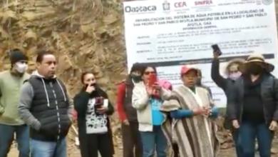 Pobladores de Ayutla Mixe revelan 'montaje' de gobernador Alejandro Murat para solucionar estiaje 6