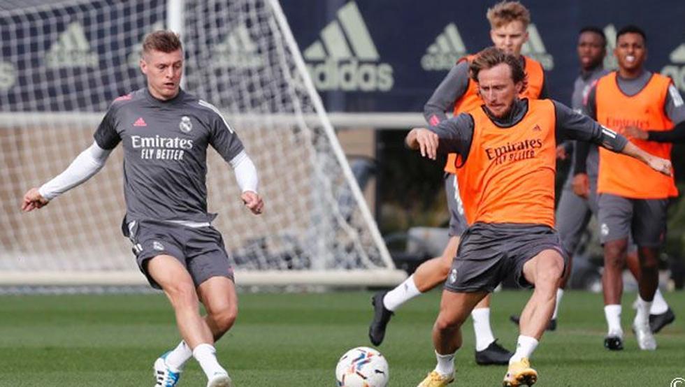 El Madrid resurge al compás de Modric y Kroos 7