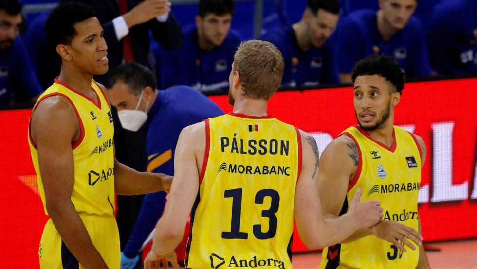 Plaga de lesionados en el MoraBanc Andorra 8