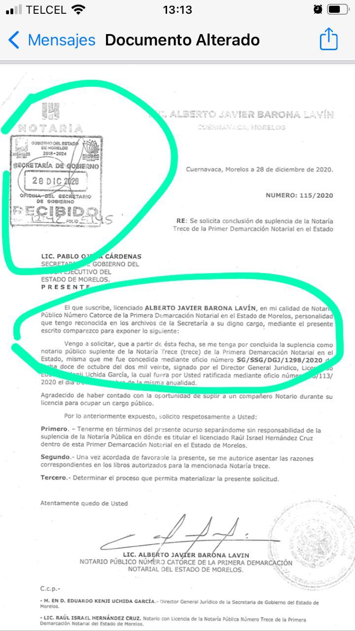 'Ombudsperson' de Morelos denuncia penalmente por amenazas a funcionarios del gobiernodel estado 2