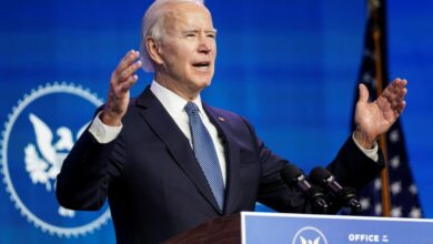 Biden llama 'terroristas' e 'insurrectos' a los partidarios de Trump que asaltaron el Capitolio de EU