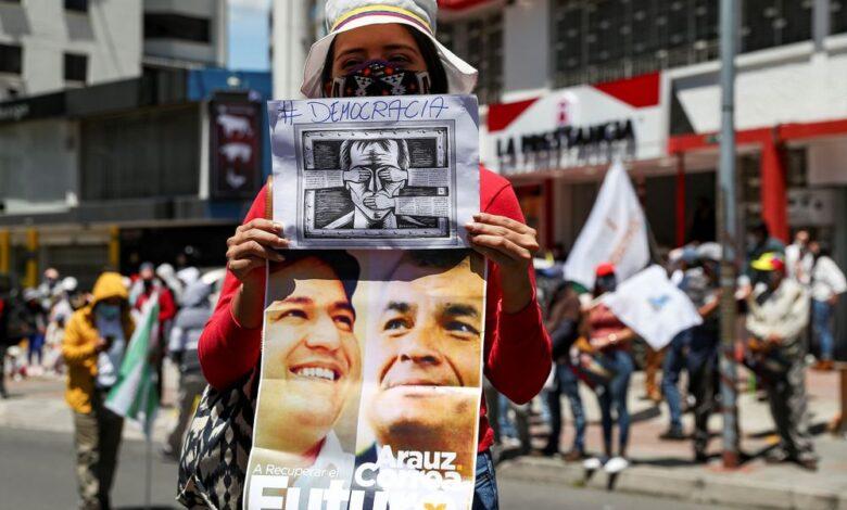 Debate presidencial en Ecuador: 16 candidatos, turnos de un minuto y doble jornada 1