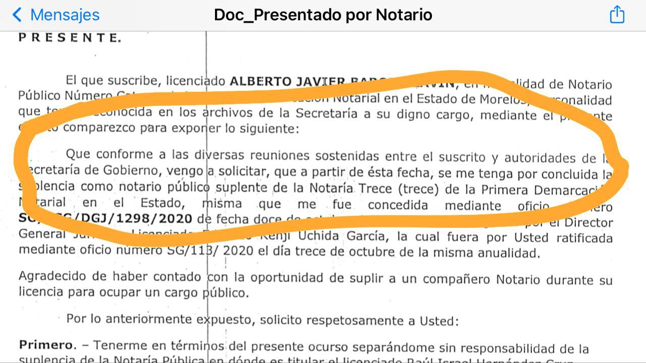 'Ombudsperson' de Morelos denuncia penalmente por amenazas a funcionarios del gobiernodel estado 3