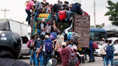 Numerosa caravana de migrantes avanza por Centroamérica rumbo a EU