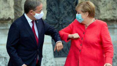 Armin Laschet, el primer ministro de Renania del Norte-Westfalia, sucederá a Merkel al frente de CDU