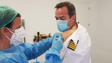 Defensa vacuna de la covid a los militares enviados en misión internacional 12