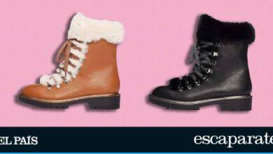 Forradas de pelo y en dos colores: estas botas son perfectas para el frío y no superan los 40 euros 23