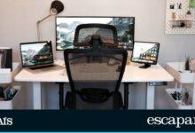 Las mejores mesas plegables y auxiliares para trabajar en casa por menos de 100 euros 4