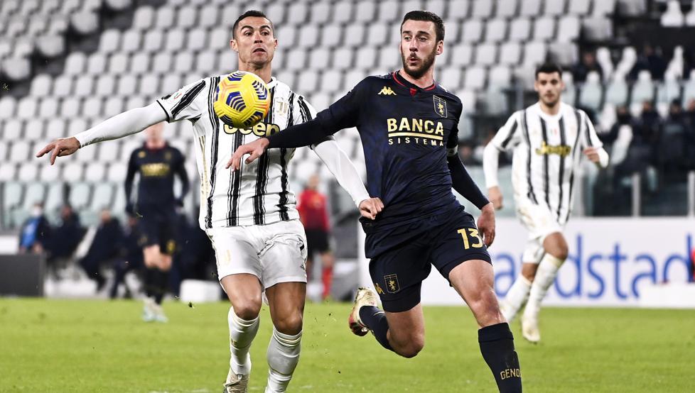 3-2: La Juventus suda tinta para eliminar al Genoa en la prórroga 1
