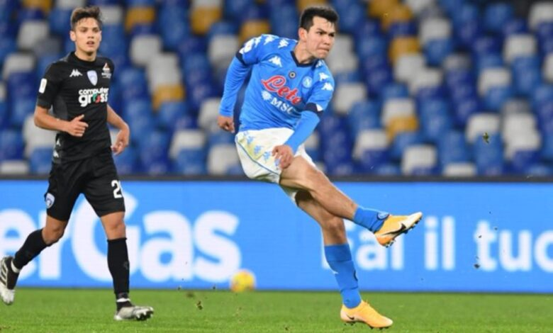 "Anota ""Chucky"" un golazo en la victoria del Napoli | Video 1"
