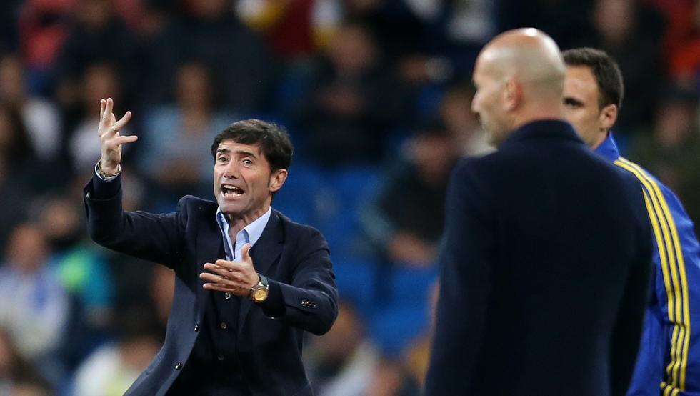 Así le ha ido a Marcelino contra el Real Madrid 1
