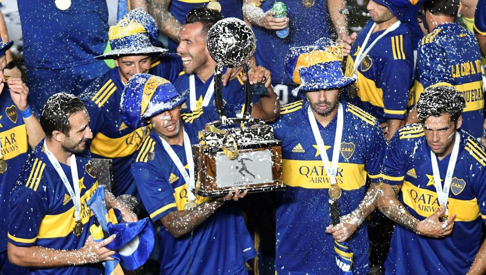 Boca rinde homenaje y se queda con la Copa Maradona 14