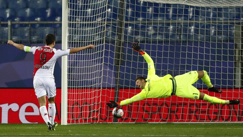 El Mónaco vence en Montpellier con doblete de Ben Yedder 22