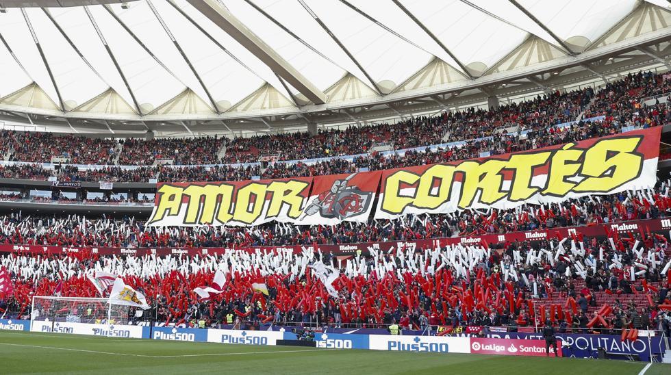 El Sevilla fue el último rival que vio público en el Metropolitano 1