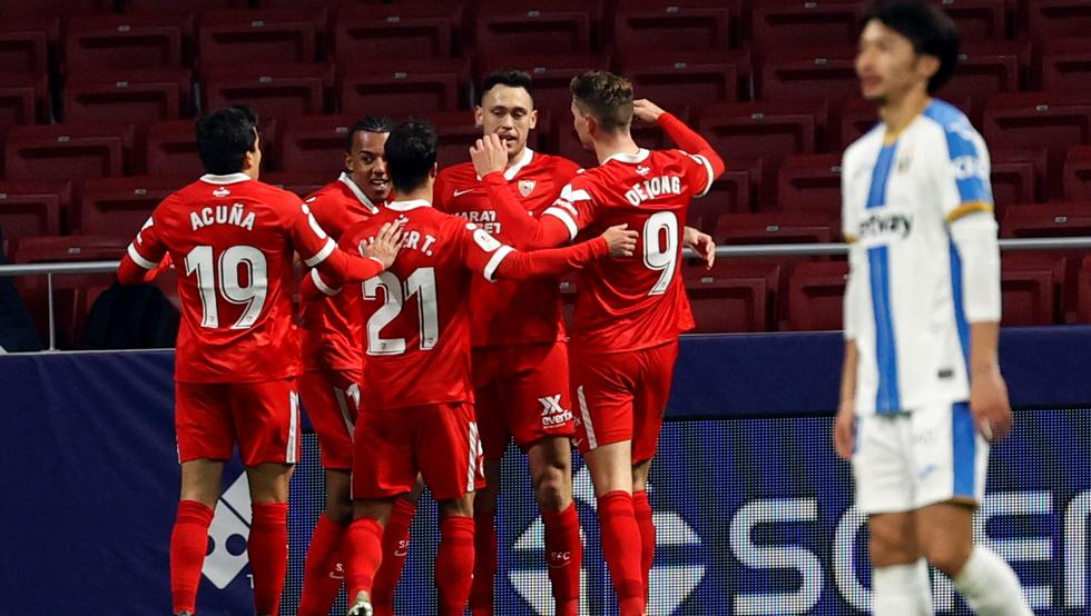 El Sevilla necesita la prórroga y un gol de Ocampos para eliminar al Leganés 16