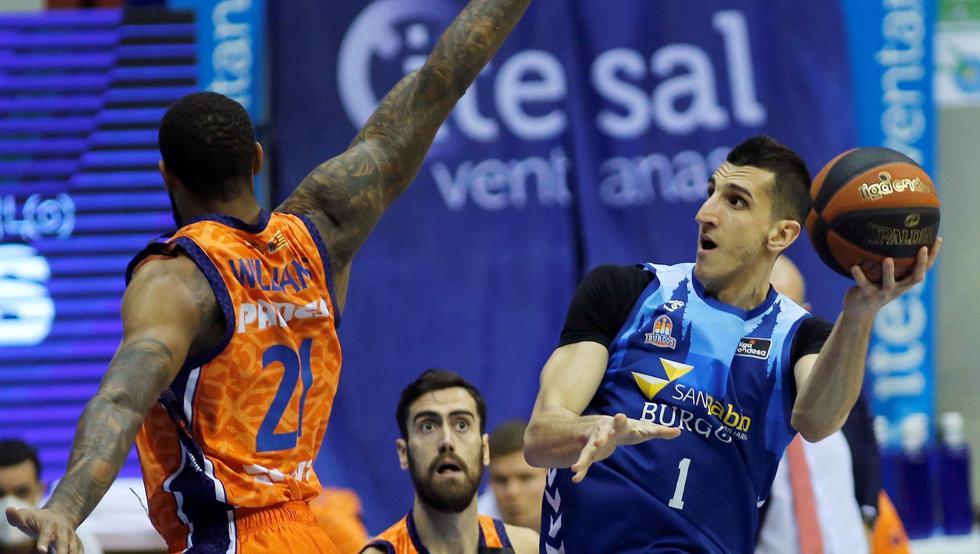El Valencia alarga su racha en Burgos 41