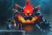 El asombroso arte de Super Mario combina la furia de Bowser con la isla de Yoshi 3