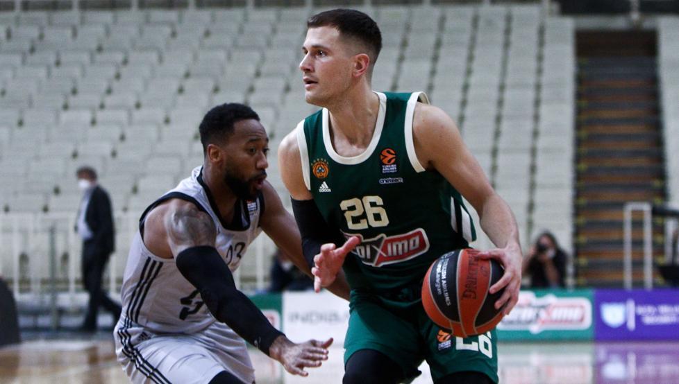 El escolta del Panathinaikos Nemanja Nedovic, MVP de la semana 51