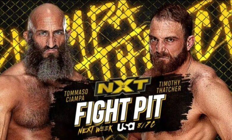 El regreso de Jon Moxley, Fight Pit Match 1