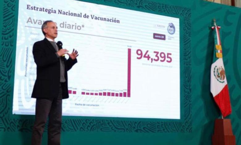 Este martes se vacunó a 94 mil 395 personas contra coronavirus; cifra récord 1