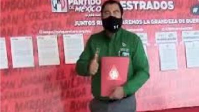 José Luz García Orta le fue negado registro en el PRI, por cuestiones risibles, buscaba el 9º distrito