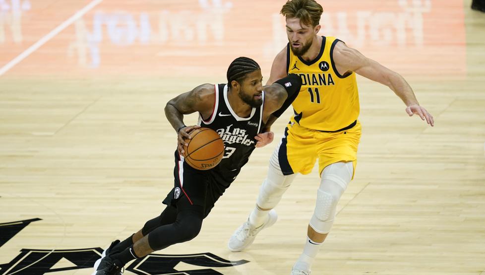 Los Clippers dan un golpe sobre la mesa ante los Pacers 13