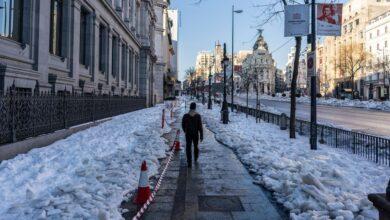 Madrid: una semana enterrada en la nieve 20