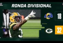 NFL Playoffs: Cumplen Empacadores con el pronóstico en la Ronda Divisional NFC | Video 6