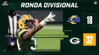 NFL Playoffs: Cumplen Empacadores con el pronóstico en la Ronda Divisional NFC | Video 17