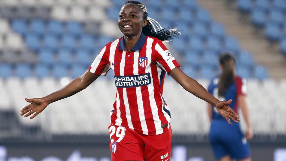 Njoya deslumbró en su debut en la final de la Supercopa 21