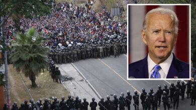 """""""No vengan ahora"""": gobierno entrante de Biden a la caravana de migrantes 14"""