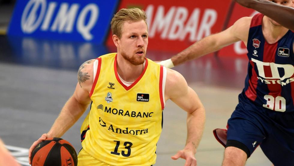 Palsson vuelve a la enfermería del Andorra con una lesión en el tobillo 10