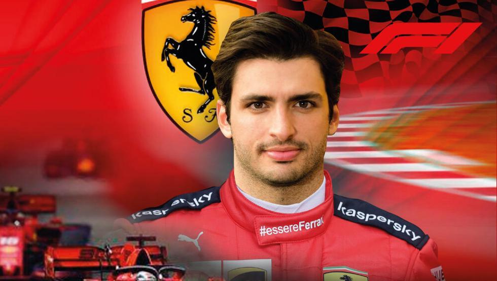 Sainz se estrena con el simulador de Ferrari 11
