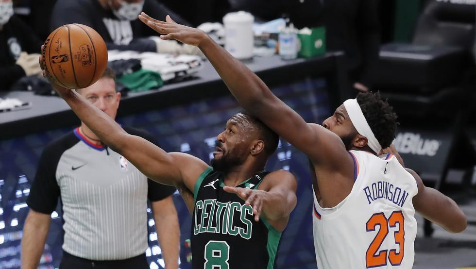 Siesta antológica de los Celtics en el retorno de Kemba Walker 38
