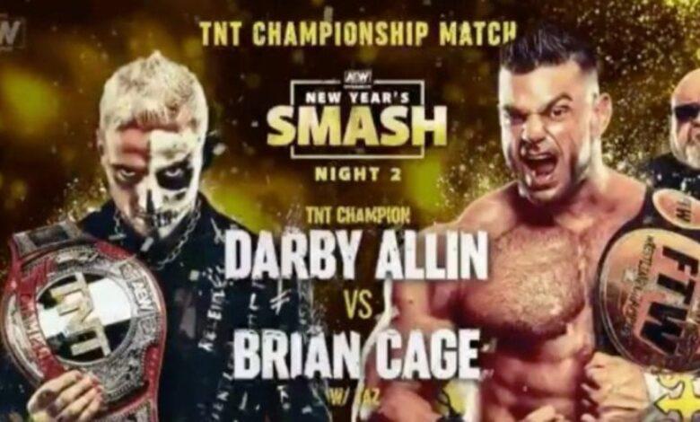 Smash Night Two de AEW New Year y alineaciones completas del 13 de enero de NXT 1