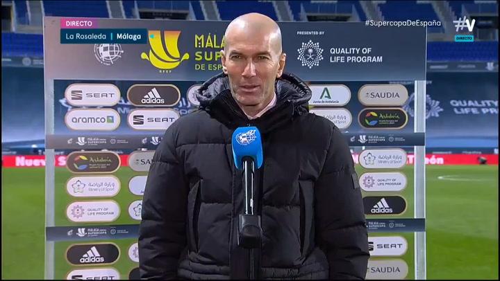 Zidane niega ahora un fracaso que otras veces sí admitió 44