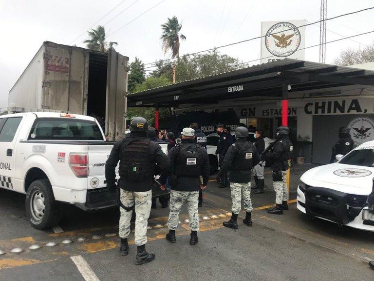 La Guardia Nacional salva a 108 migrantes centroamericanos en Nuevo León 2